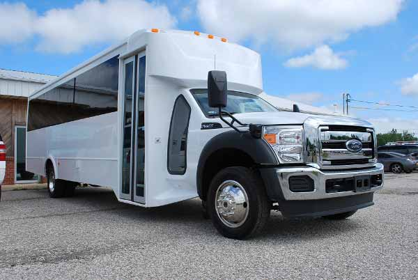 22 Passenger party bus rental montgomery
