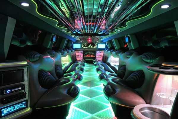Hummer limo interior montgomery