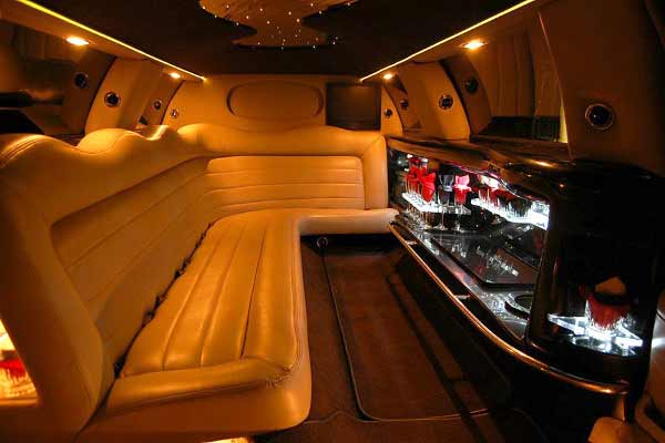 Lincoln stretch limo party rental montgomery
